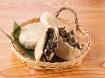 【朝食】信州を代表する郷土料理「おやき」