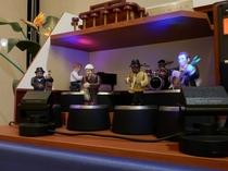 【リラクゼーションコーナー】ジャズ演奏で寛ぎの一時をお過ごしください。