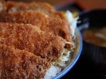 【朝食】伊那谷名物・ソースカツ丼♪料理長特製のソースが決め手です!