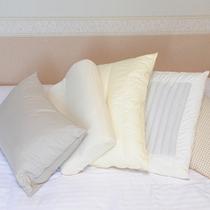 選べる5種の枕
