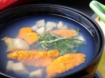 八戸の郷土料理いちご煮