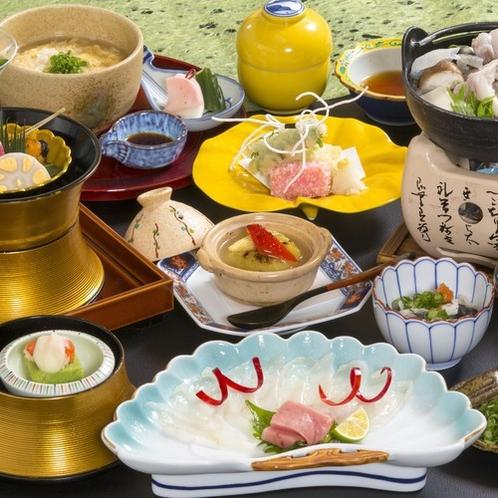 【八戸産とらふぐ】特別会席料理