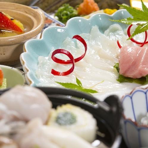【八戸産とらふぐ】特別会席料理(イメージ写真)