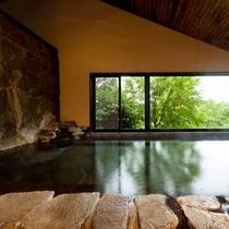 岩風呂(男性大浴場)