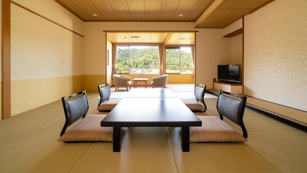 【喫煙】夕映の館【和室12.5畳】岩室富士の絶景と優美な客室