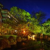 千坪の日本庭園『風景』