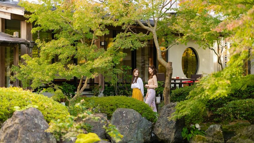 県内最大級1000坪の日本庭園(散策イメージ)