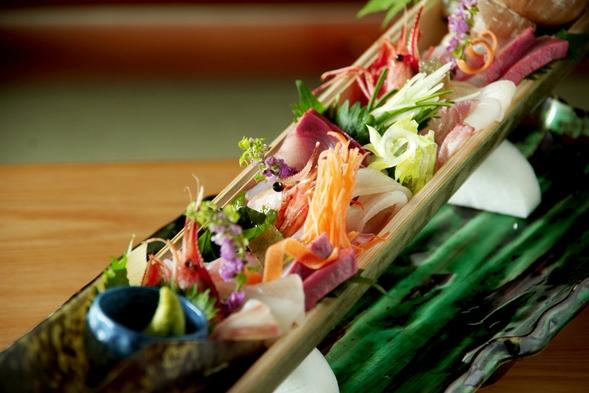 新鮮な海の幸『お造里』を氷結する器で食す!日本海味覚プラン