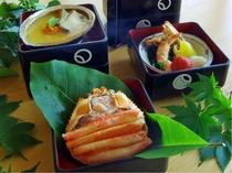 海鮮前菜三種イメージ其の壱