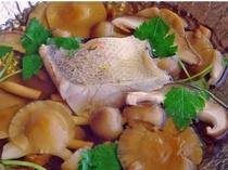 旨み溢れる『きのこ鍋』に秋冬の高級旬魚『甘鯛』を