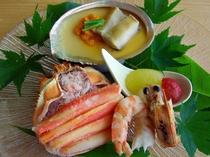 海鮮前菜三種イメージ其の弐