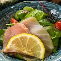 【料理一例】相模湾より、鮮度の高い旬のお魚をご用意しております。ぜひご賞味ください