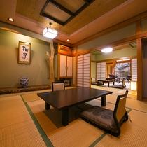 【客室一例】広々としたお部屋は、親子三世代でも十分にお寛ぎいただけます