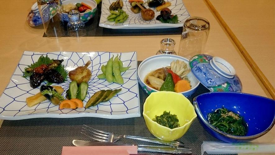 グリーンシーズン_旬の野菜たっぷりお料理2