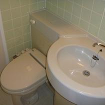 全室トイレはもちろんウォシュレット対応。