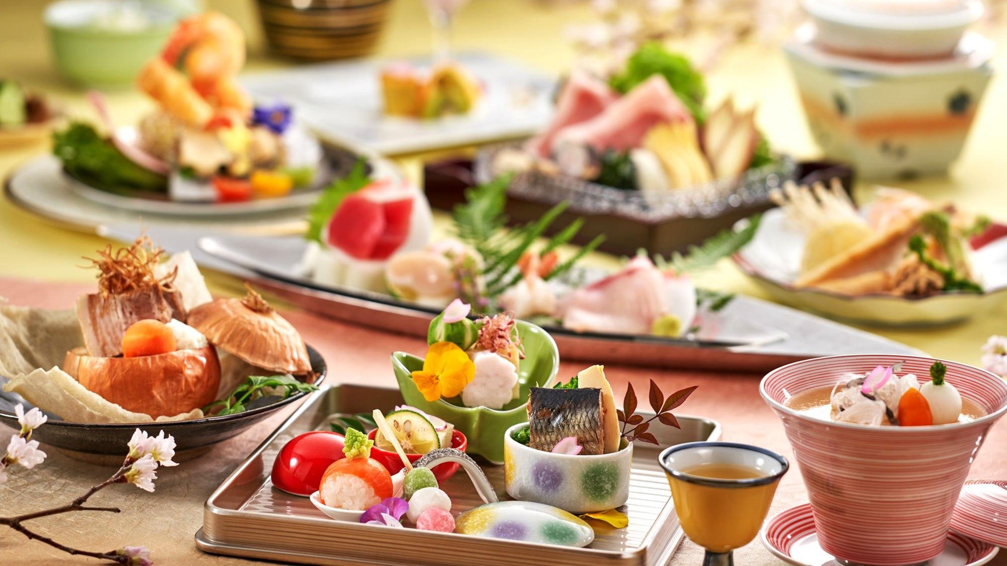 料理一例(春)