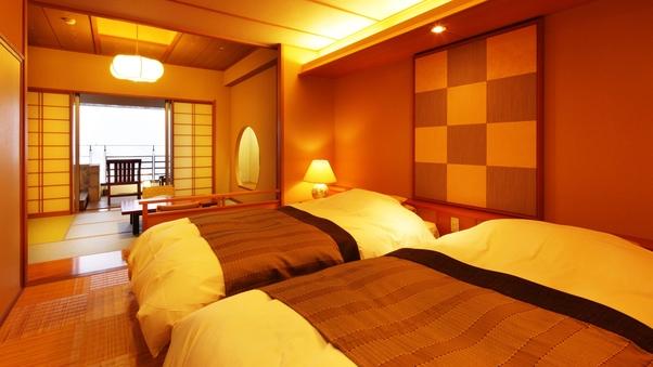 露天風呂付客室 和室+ベッドルーム+テラス(禁煙)