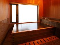 ひのき風呂付客室 ひのき風呂(内風呂)