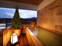 露天風呂付客室 和洋室タイプ 露天風呂