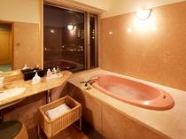 デラックスタイプ 洋室 ジャグジー風呂