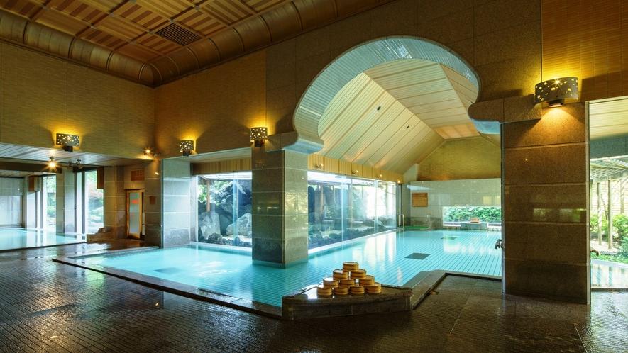 1階大浴場(内風呂)