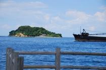 東京湾唯一の自然島 猿島