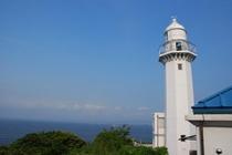 最古の洋式灯台 観音崎灯台