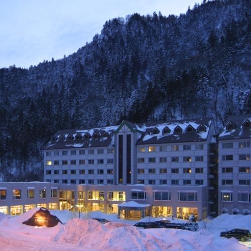 ■朝陽リゾートホテル(冬・夜)