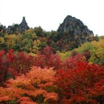層雲峡の紅葉(イメージ)