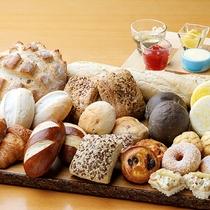 【ル・マッターホルン 冬メニュー】<朝食/世界のパンが大集合!>
