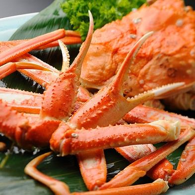【秋冬旅セール】【部屋食or個室食事処確約】 カニ好き必見!海鮮&蟹三味グルメプラン♪