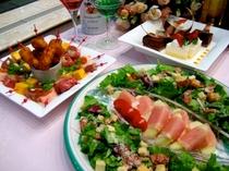 レディースパーティー 料理イメージ