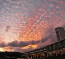イーフビーチホテル夕日