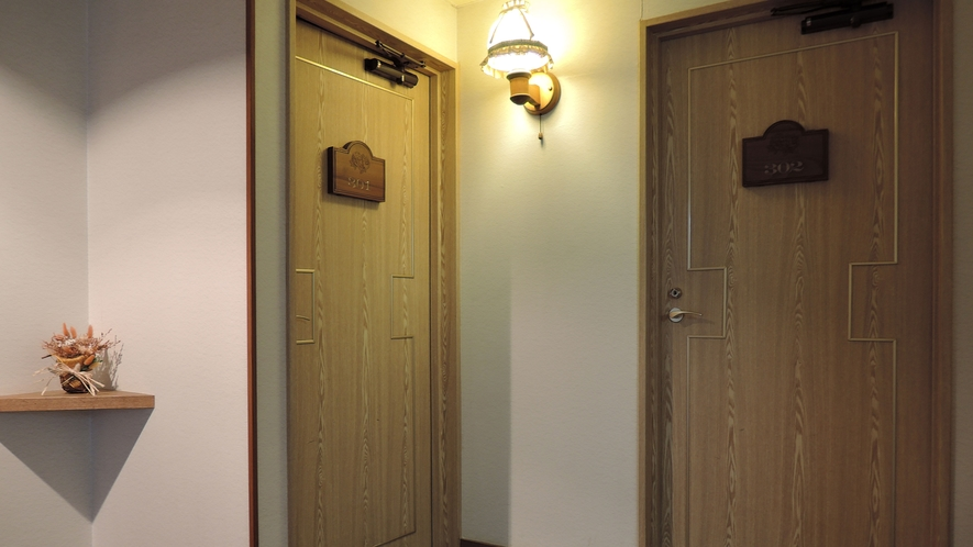 *館内 廊下
