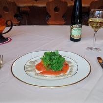 *夕食一例/『洋食』と『和食』を日替わりでご提供しております。(選択不可)