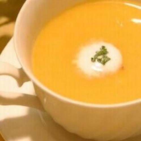 かぼちゃクリームスープ