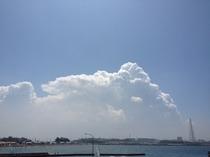 巨大な積乱雲