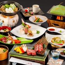 2021/4/10~『かづの恋姫コース』お料理一例 ※季節により献立は変更となります