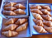 朝食のパン一例
