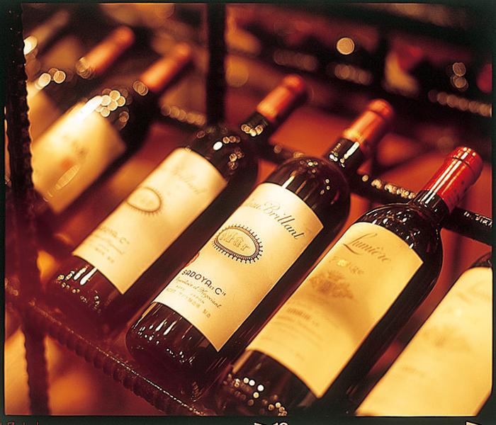 レストランMoonbowワインセラー