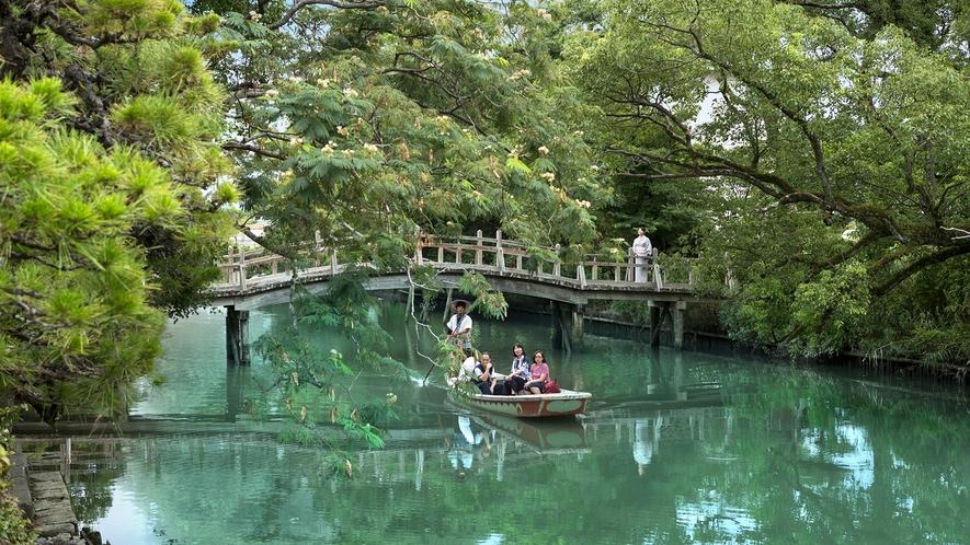 *・~川下り~お舟にゆられゆったりとした時間を過ごしてみてはいかがでしょうか?