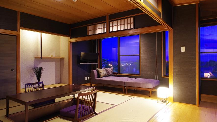 *【和洋室】角部屋で広々!ご家族でのご宿泊にも最適です。