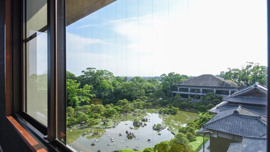 *【黒椿の間】窓からの景観