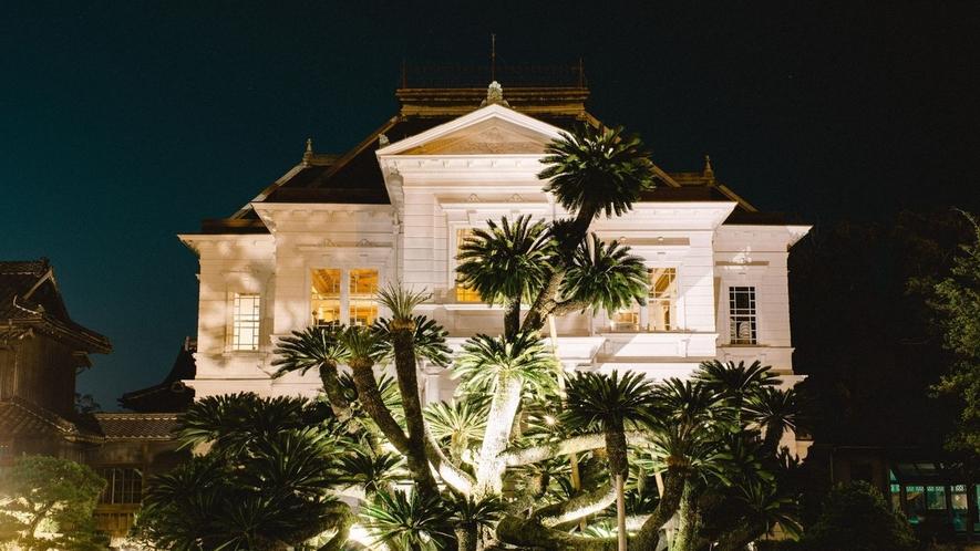 【西洋館】迎賓館として建てられた、鹿鳴館様式の流れをくむ伝統ある建物です。