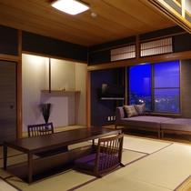 【和洋室】角部屋で広々!ご家族でのご宿泊にも最適です。