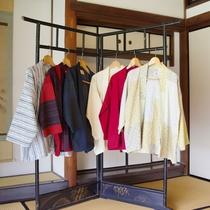 【haori】筑後「宮田織物」の、中わた無し袢天。お好きなものをお選びいただけます。