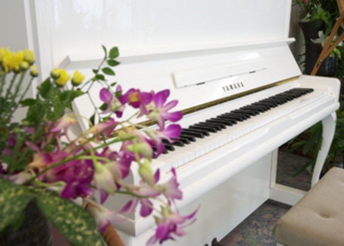 ピアノとロビー