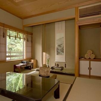 【離れ2階】夕陽〜源泉かけ流し風呂◇本間10畳+次の間10畳