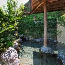 大浴場「露天風呂」