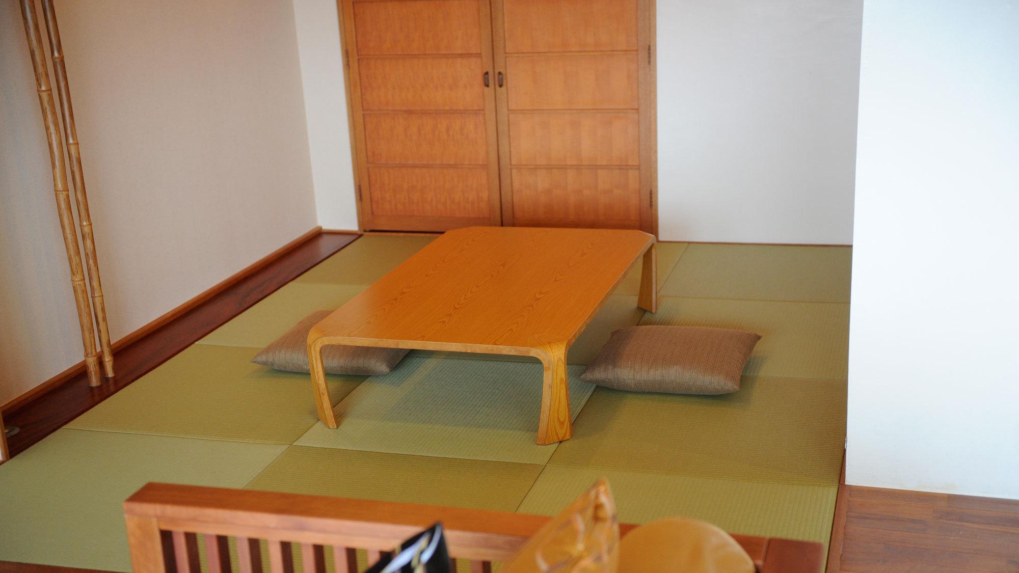 【デラックスファミリー】団欒の時を過ごすのにぴったりな畳間スペース